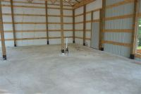 One Man + $80,000 = This Awesome 30 x 56 Metal Pole Barn ...