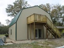 Gambrel Metal Building Homes Floor Plans