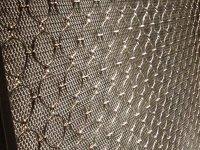 Decorative Ring Mesh Curtain - SS & Bronze