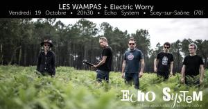Les Wampas + Electric Worry à Echo System (70) @ Echo System