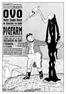 Ovo + Pigfarm @ Les Passagers du Zinc