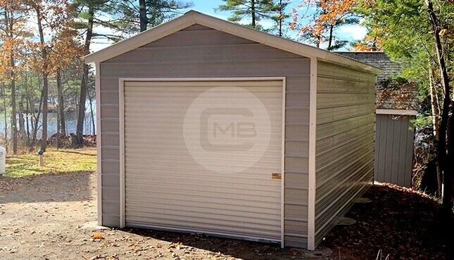 12×20 Metal Garage
