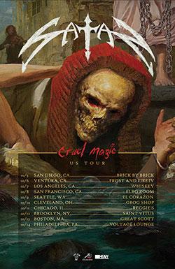 English NWOBHM legends Satan reveal details for new album