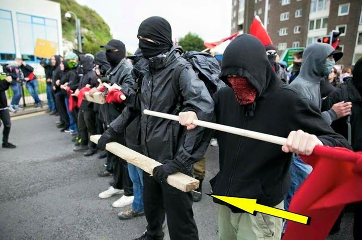 Image result for image of antifa
