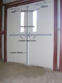 Preassembled Steel Walk Doors, Man Doors and Entry Doors