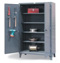 Stronghold, 46-PB-244, Standard Pegboard Storage Cabinet ...