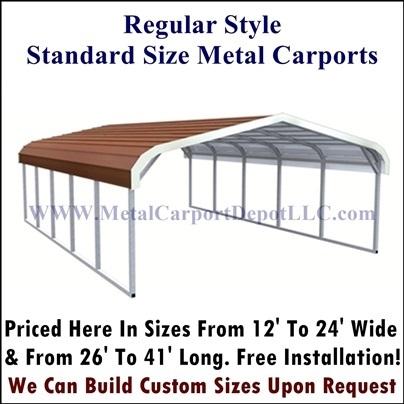 Portable Metal Carport Metal Carports Kits Prices
