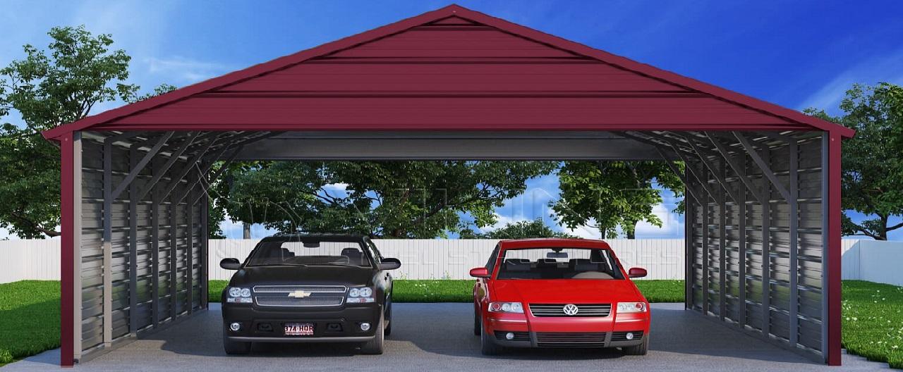 Modern Steel Carport
