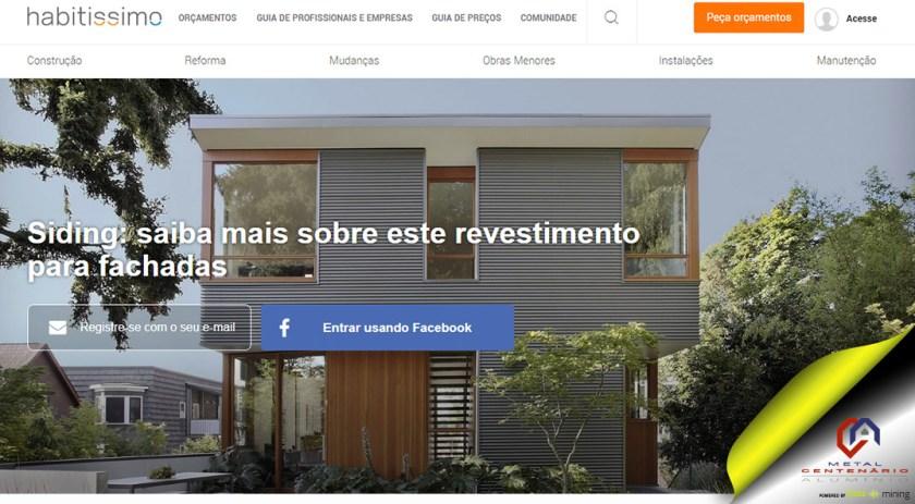 Siding: saiba mais sobre este revestimento para fachadas #soubuzzer #perfisdealuminio #revestimentoparafachadas (TOP 1)