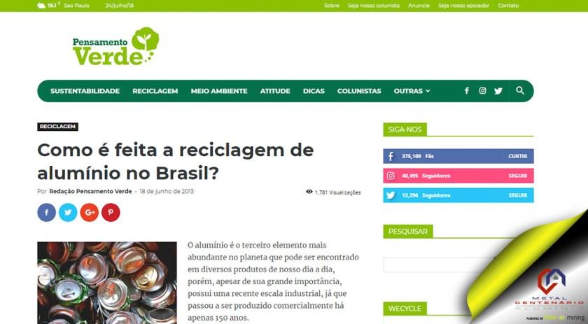 Como é feita a reciclagem de alumínio no Brasil? #indústria #perfisdealumínio #esquadriasdealuminio #reciclagemdoalumínio #soubuzzer (TOP 1)