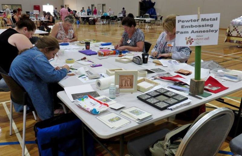 Metal Embossing Midwest Autumn Craft Round Up 2016