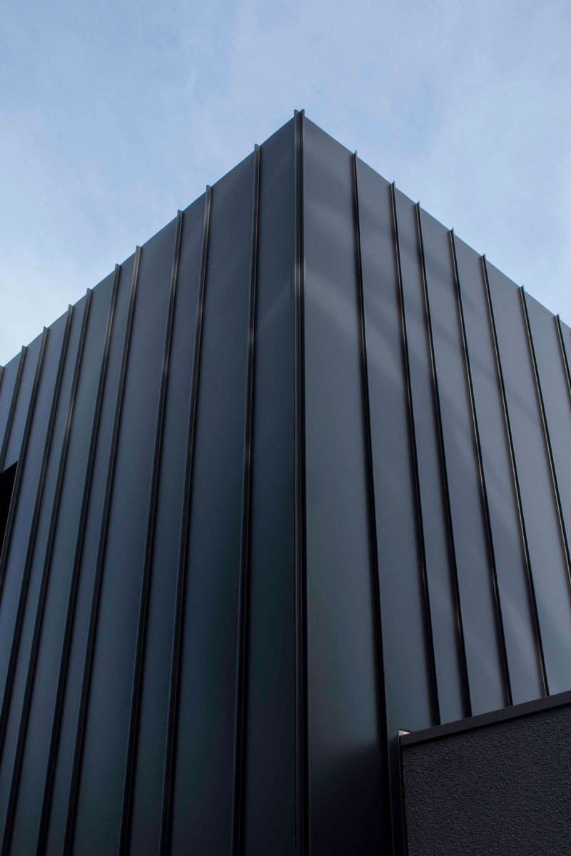 Rippon Grove Apartments Features Standing Seam Cladding By