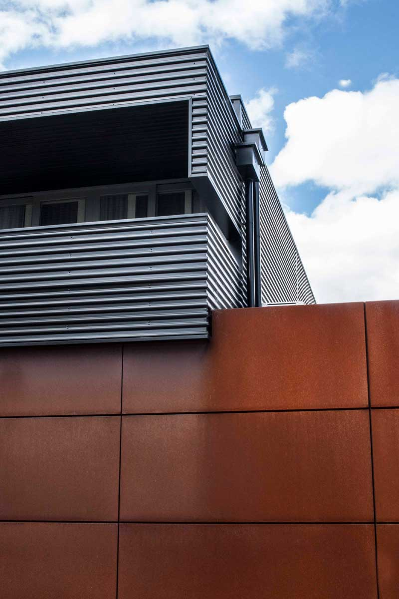 New Street features Cassette Panel cladding by Metal Cladding Systems