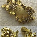 Gold Panner Hood Ornament