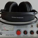 Golden mask deep Hunter pulse metal detector with discrimination