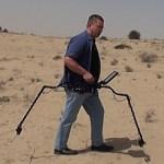 رادار الاختراق الأرضي مع الروبوت اللوحي Gepard GPR