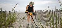 METAL DETECTOR TO SEARCH FOR GOLD