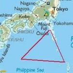 explanation for the fact the Bermuda triangle or Devil's triangle