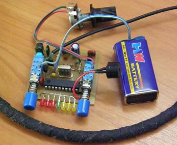 how to build a metal detector oscillator