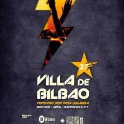 27 Concurso Pop Rock Villa de Bilbao bandas clasificadas