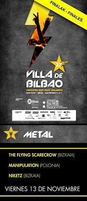 27 Concurso Pop Rock Villa de Bilbao resultados