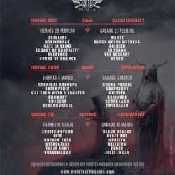 W.O.A. Metal Battle 2016 Lugares Semifinales