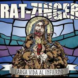 Rat-Zinger escucha el primer single «Larga Vida Al Infierno»