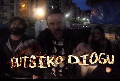 Artistas vascos en el nuevo videoclip de Crisix