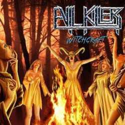 Evil Killer portada y tracklist de «Witchcraft»