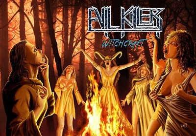 Evil Killer portada y tracklist de Witchcraft