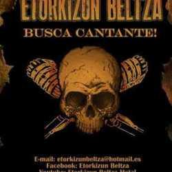 Etorkizun Beltza busca cantante