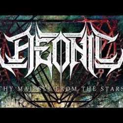 Aeonic lyric-video de «Thy Majesty From The Stars»