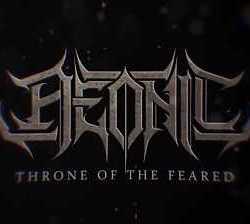 Aeonic lyric-video de «Throne Of The Feared»