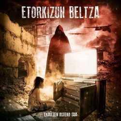 Etorkizun Beltza portada y tracklist de «Ekaitzen Osteko Sua»
