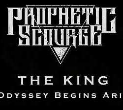 Prophetic Scourge videoclip de «THE KING – An Odyssey Begins Aright»