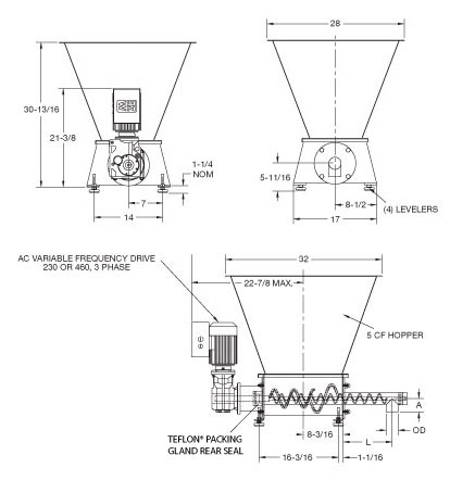 MetaTech™ Screw Feeder