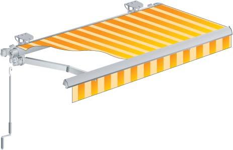 Scopri le nostre offerte su tende da sole a rullo a ringhiera motorizzate avvolgibili e a manovella. Tende Da Sole A Bracci Estensibili Prezzi E Modelli Metal Florence Serramenti Porte Infissi