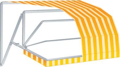 Tutte le tende da sole per esterni vanno fatte su misura in base alle dimensioni della finestra o del balcone.ad incidere sul prezzo la scelta del tessuto e del meccanismo di apertura e chiusura.quest'ultimo può essere manuale, automatizzato o motorizzato e comandabile a distanza, molto comodo in caso di tende ad ampia copertura; Tende Da Sole A Cappotta Prezzi E Modelli Metal Florence Serramenti Porte Infissi