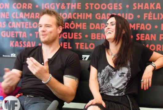 Within Temptation à la Foire aux Vins de Colmar en 2012