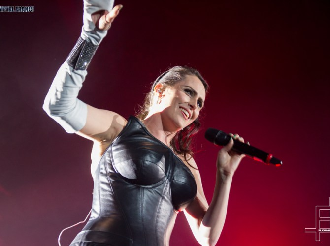 Within temptation au Zénith de paris en 2014