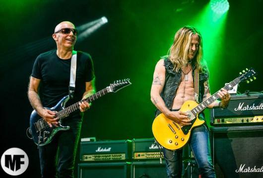 Joe Satriani et Doug Aldrich à Guitare en Scène 2018