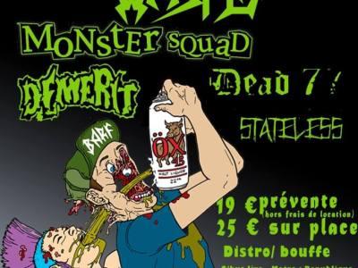 flyer Abrasive Punk Night #3