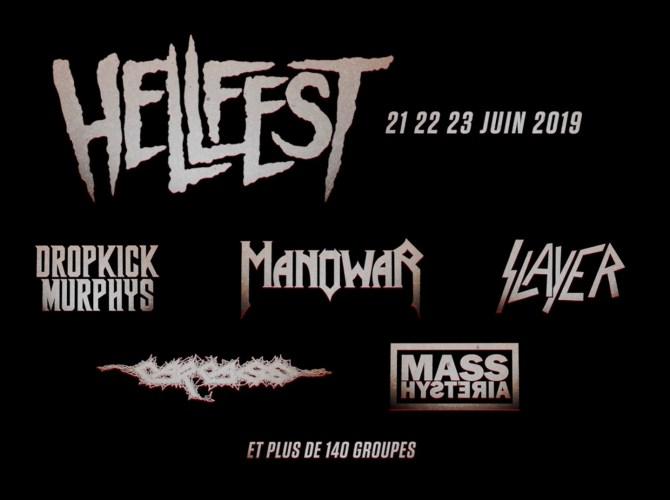 HellFest 2019 Premiers noms