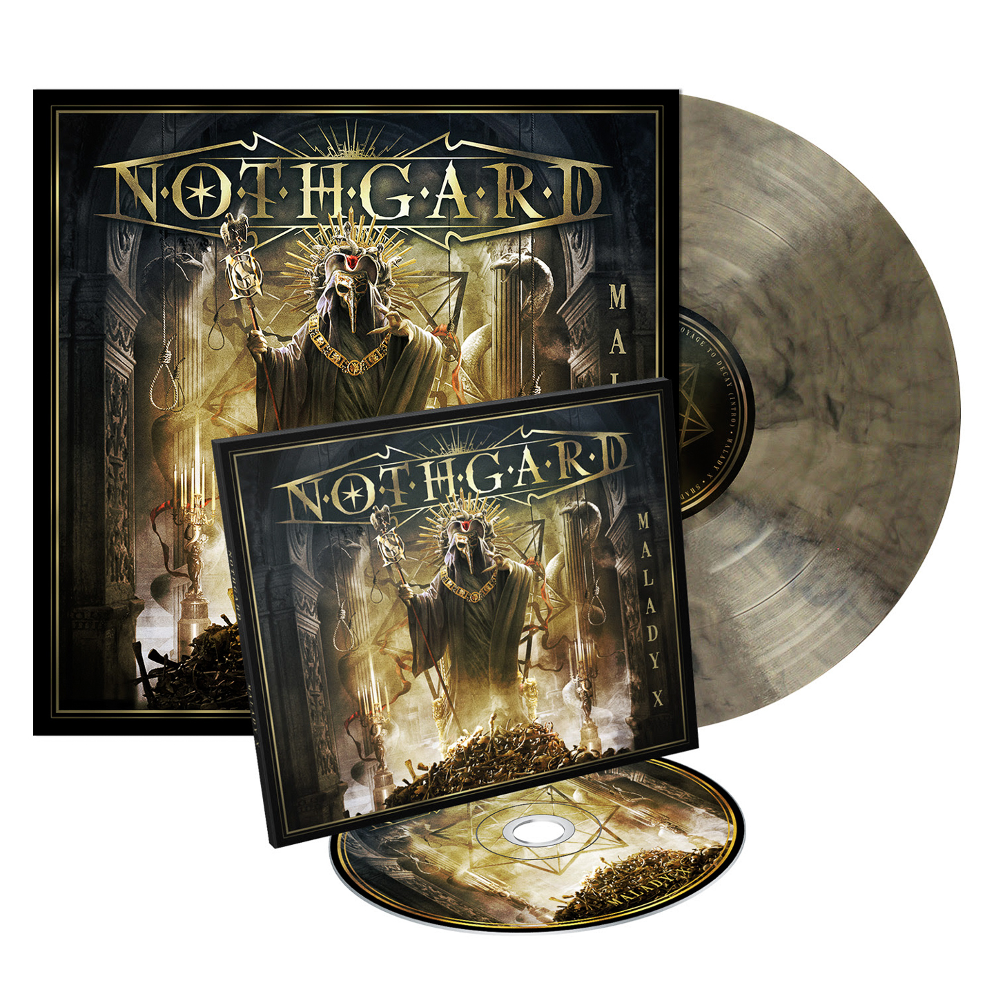 nothgard album cover