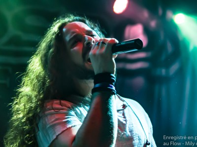 Giacomo Voli Rhapsody of fire au flow à Paris en 2019
