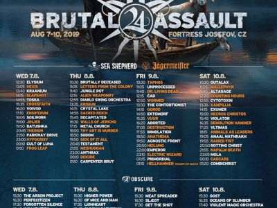 brutal assault 2019 sold out