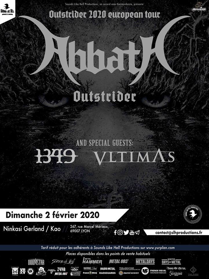 Abbath, 1349, Vltimas à Lyon