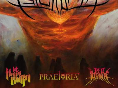 Psycroptic, Red Dawn, Praetoria, Let Them Burn au Gibus au Paris
