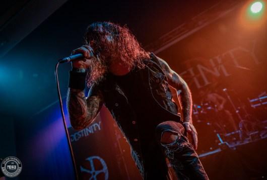 Destinity sur la scène du Lions Metal Festival 2019