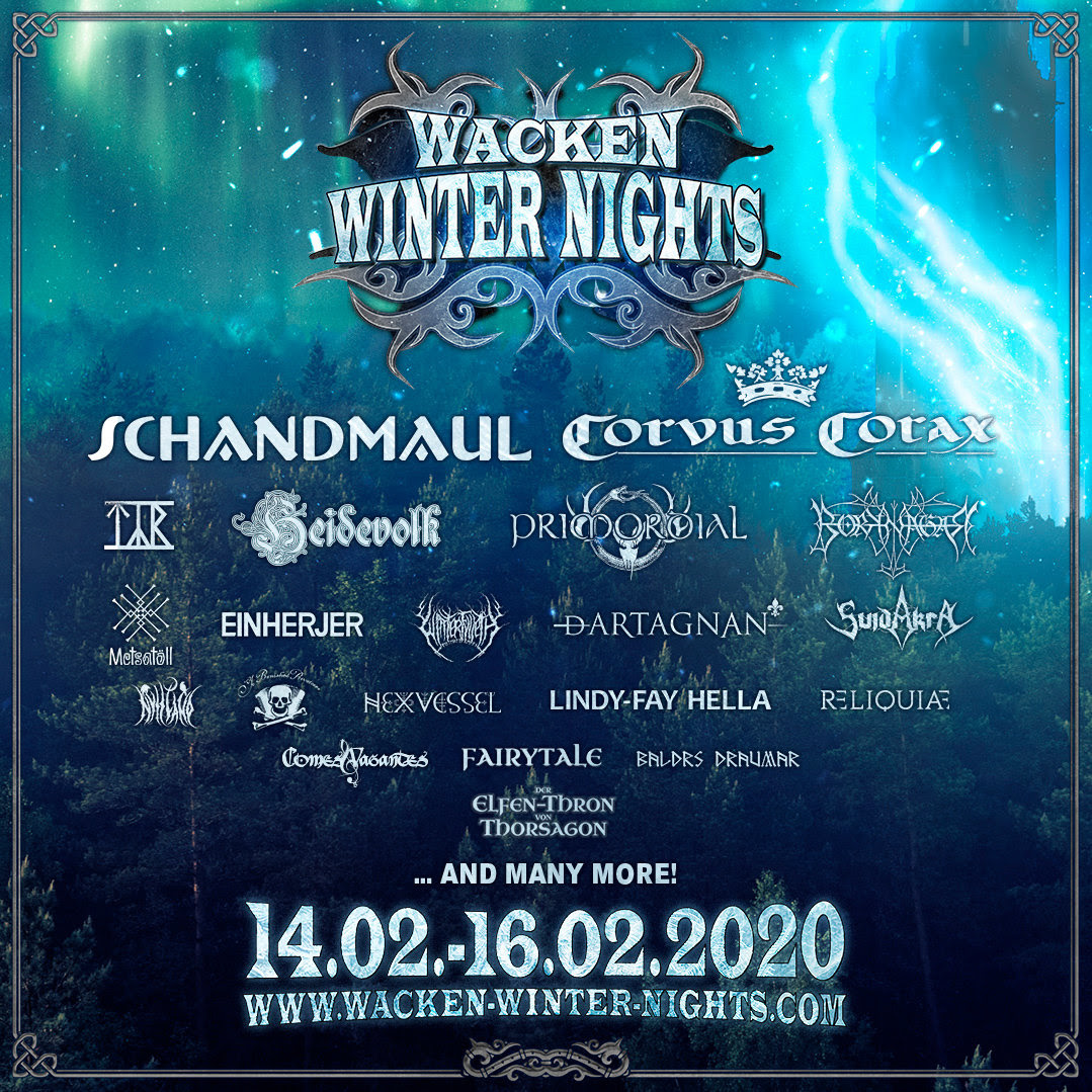 Affiche du wacken winter nights 2020